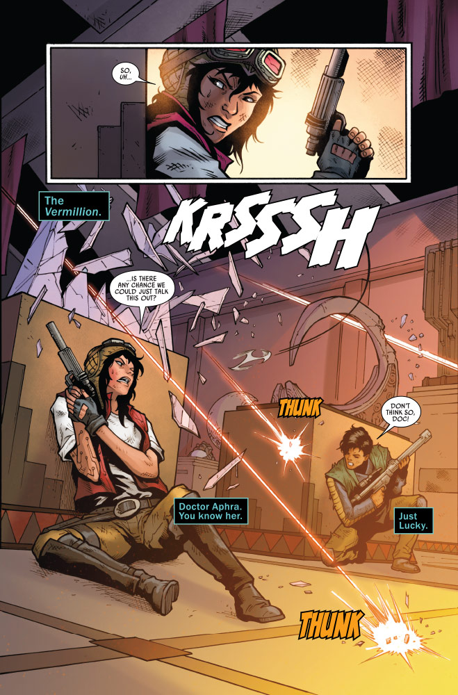 Pages from Doctor Aphra: issue #15.