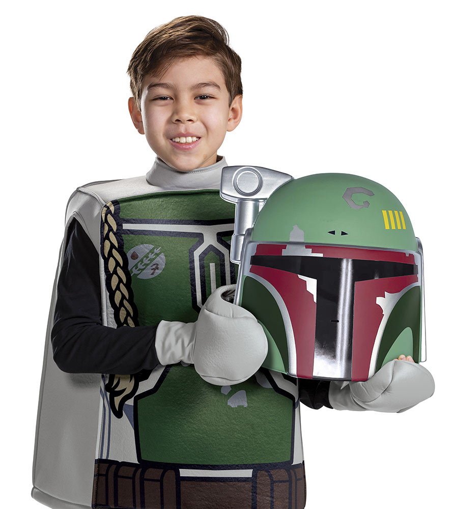 Boba Fett LEGO Star Wars Minifigure Costume by Disguise