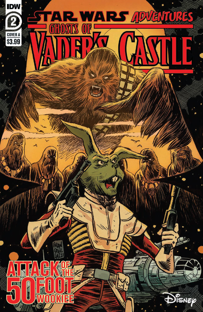 Ghosts of Vader's Castle #2 preview 1