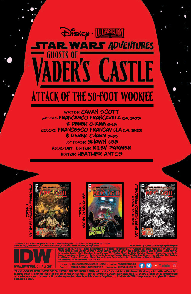 Ghosts of Vader's Castle #2 preview 2