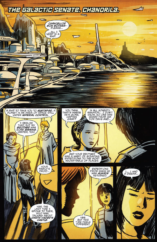 Ghosts of Vader's Castle #2 preview 3