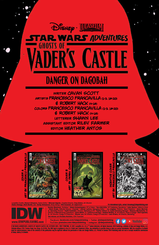 Ghosts of Vader's Castle #3 preview 2