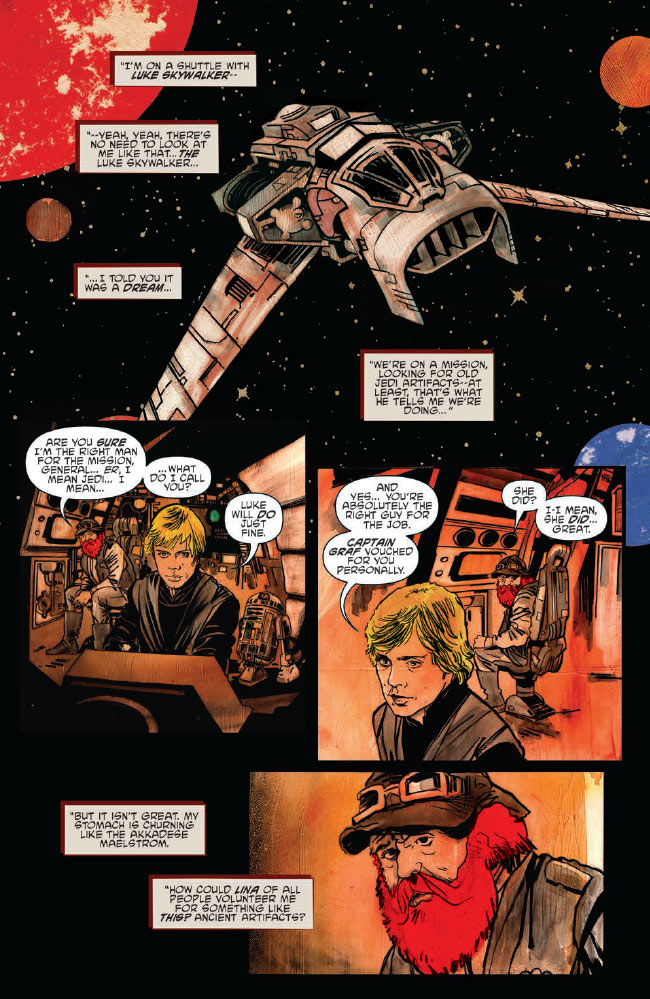 Ghosts of Vader's Castle #3 preview 6