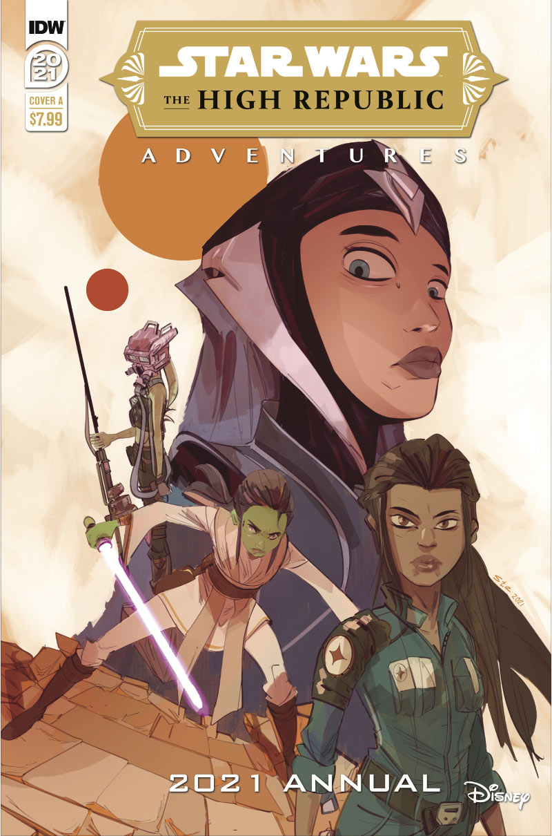 IDW's Star Wars: TheHigh Republic Adventures Annual cover