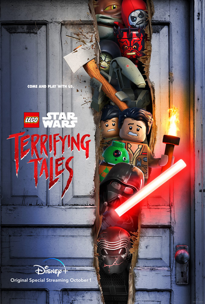 LEGO Star Wars Terrifying Tales poster.