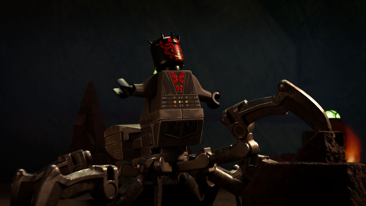 Maul with his new legs