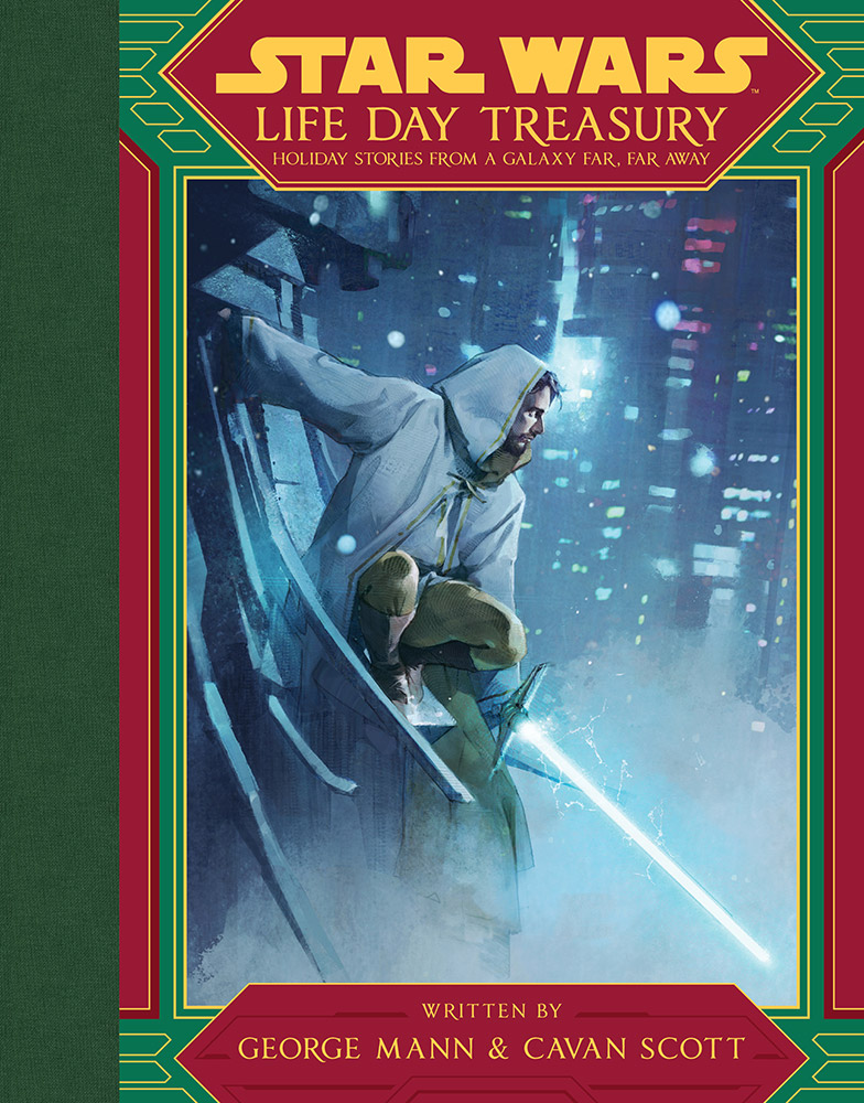 The cover of the Life Day Treasury.