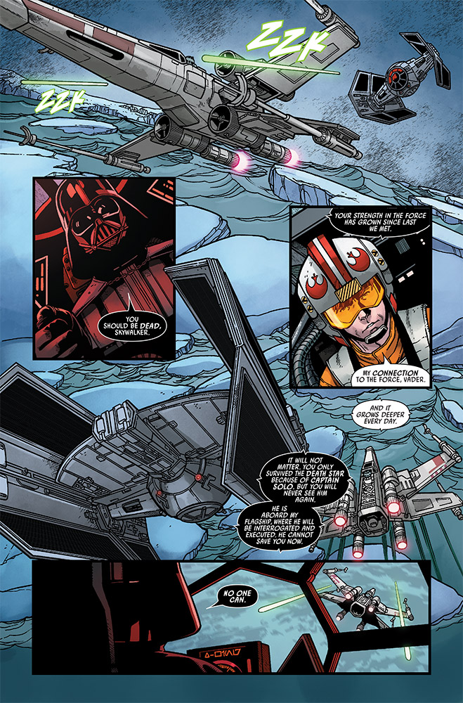 A page from Marvel's Star Wars 17.