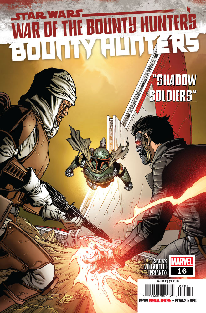 Bounty Hunters #16 Preview 1