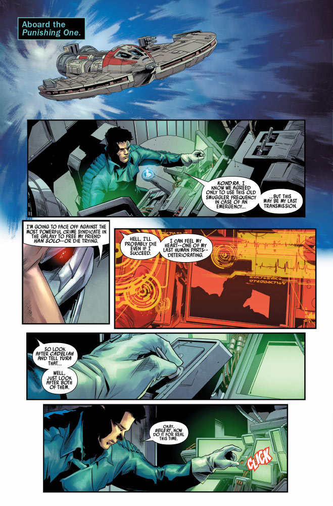 Bounty Hunters #16 Preview 2