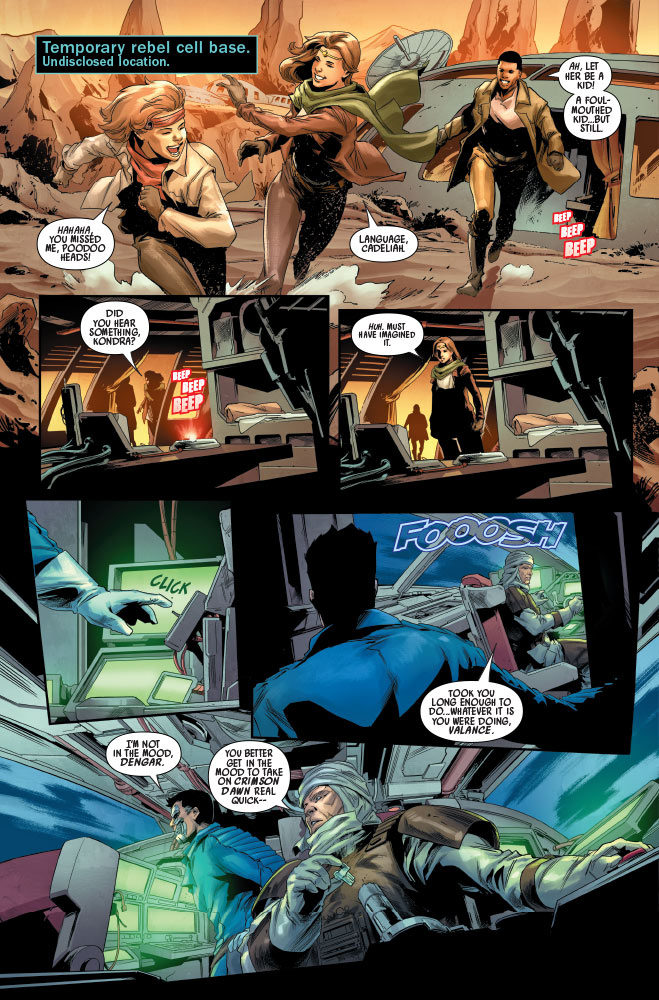 Bounty Hunters #16 Preview 3