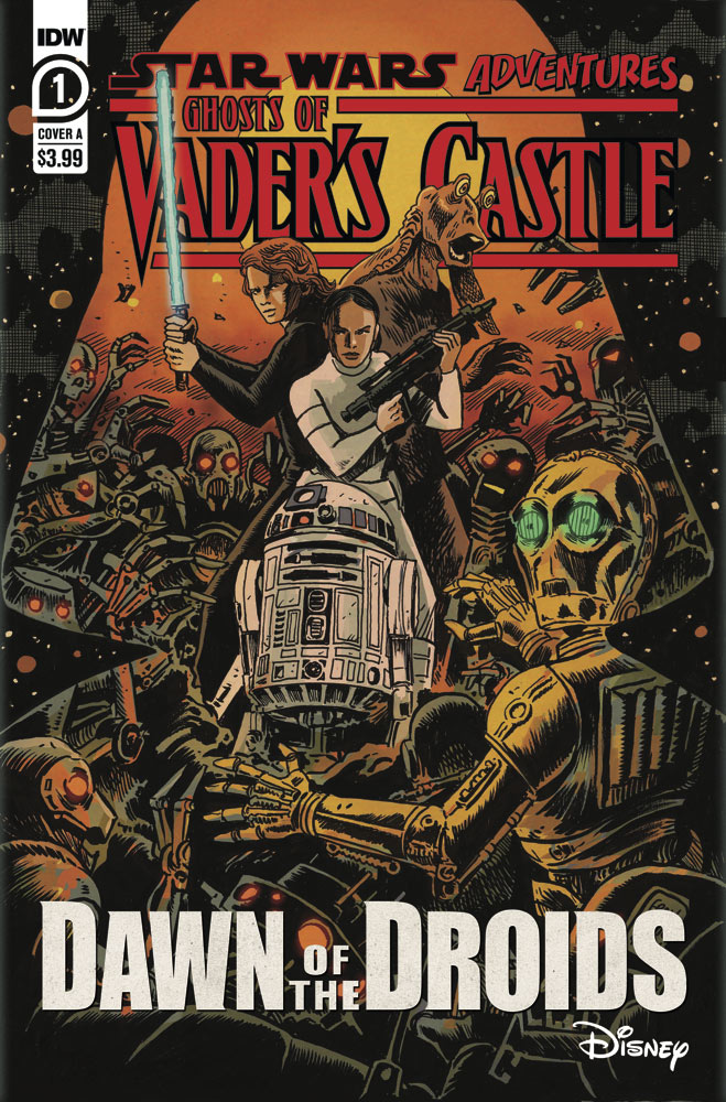 Star Wars Adventures: Ghosts of Vader's Castle by IDW Publishing