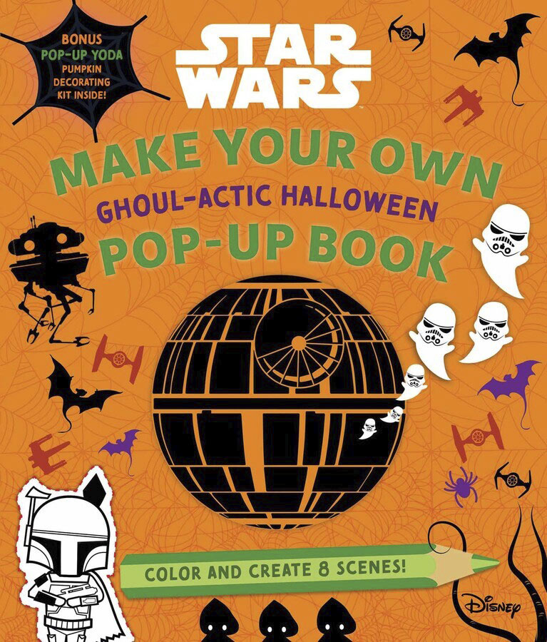 Make Your Own Ghoul-Actic Halloween Pop-Up Book by Insight Editions