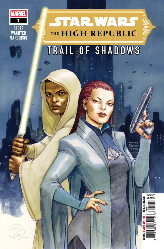Trail of Shadows#1 preview 1