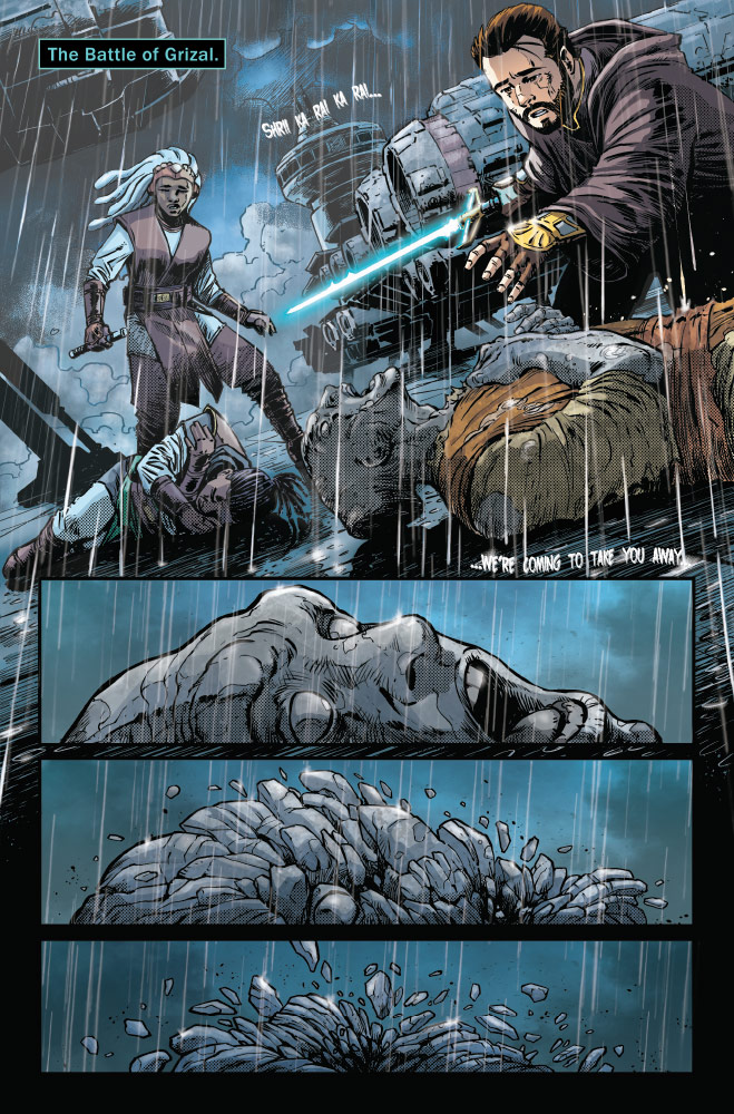 Trail of Shadows#1 preview 3