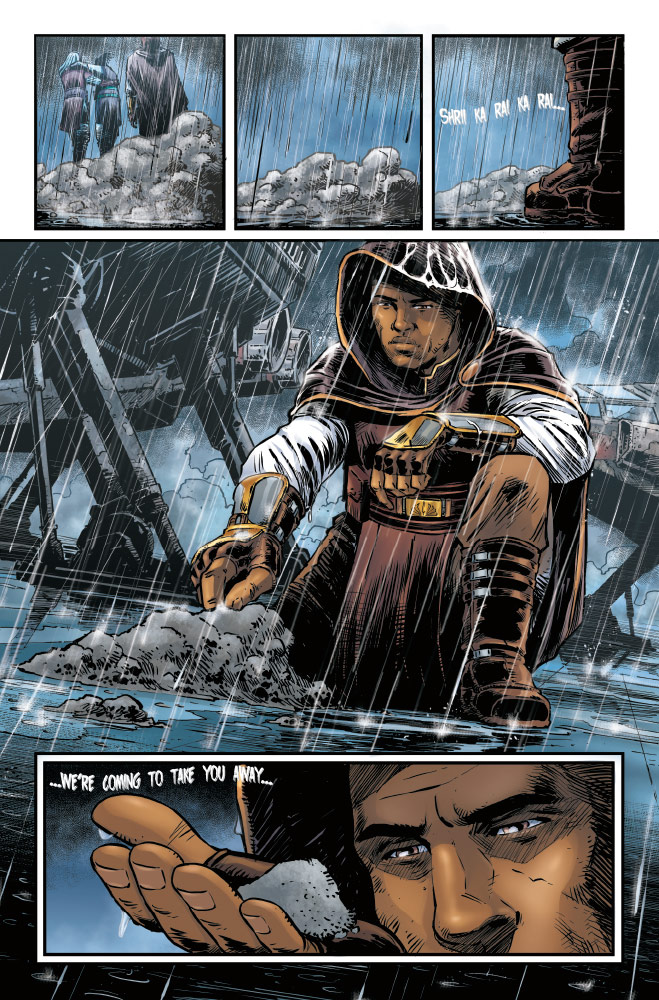 Trail of Shadows#1 preview 4