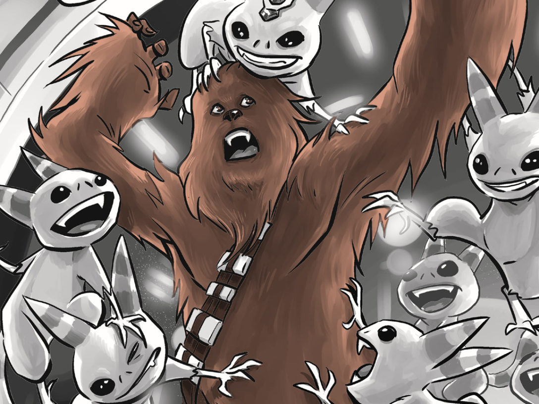 Star Wars: The Mighty Chewbacca in the Forest of Fear