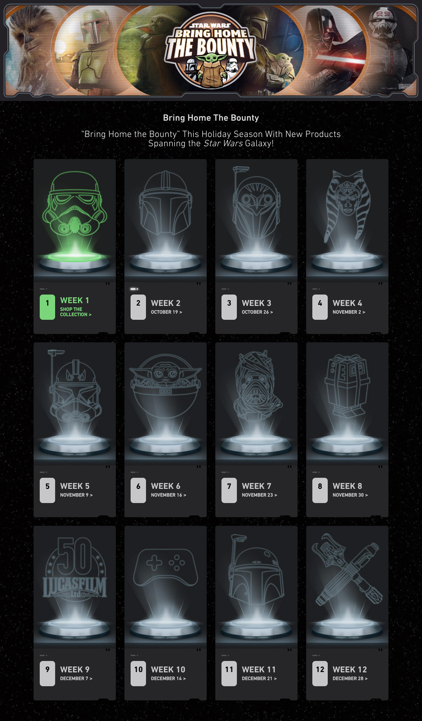 Bring Home The Bounty collection page