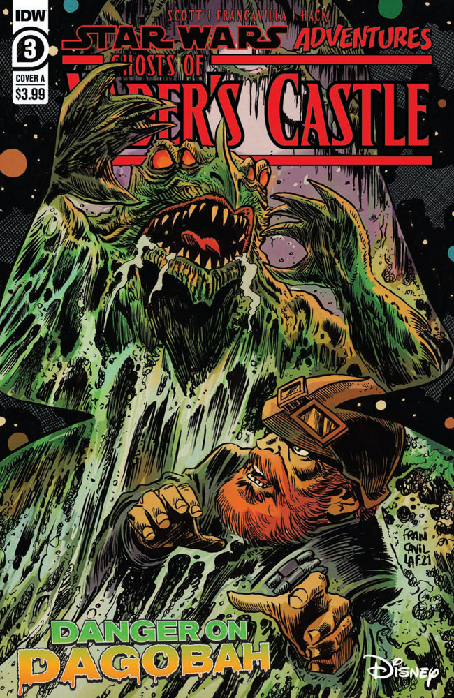 Ghosts of Vader's Castle #3 cover