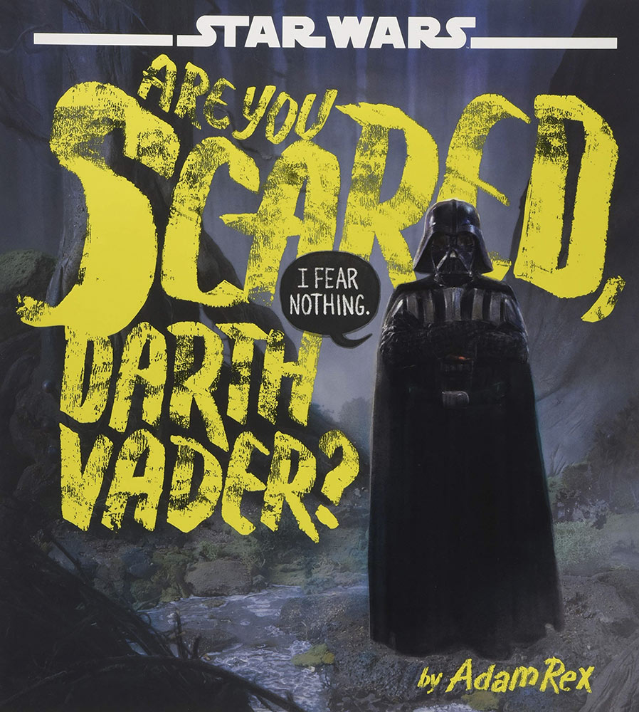 Are You Scared Darth Vader? cover.