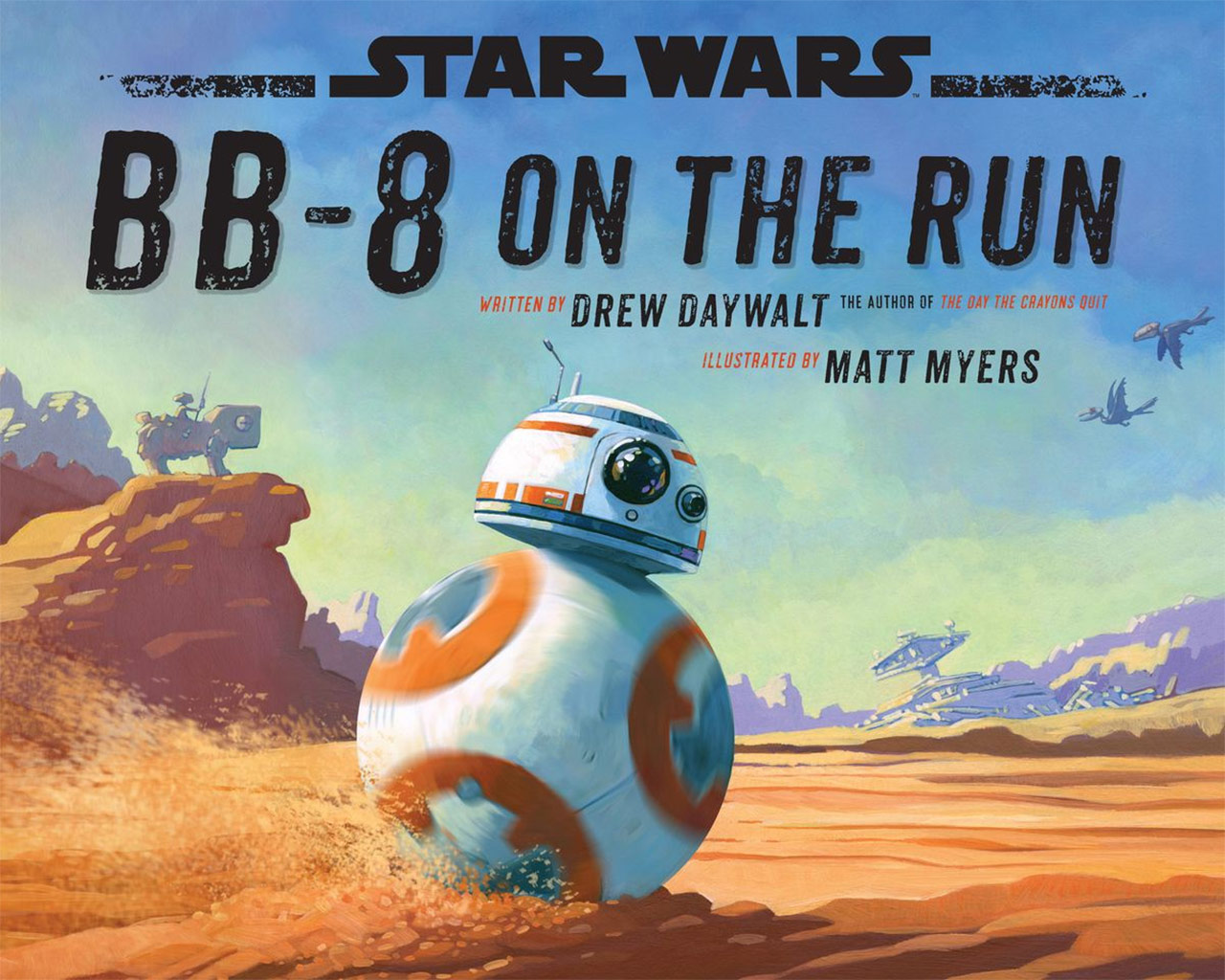 BB-8 on the Run cover.