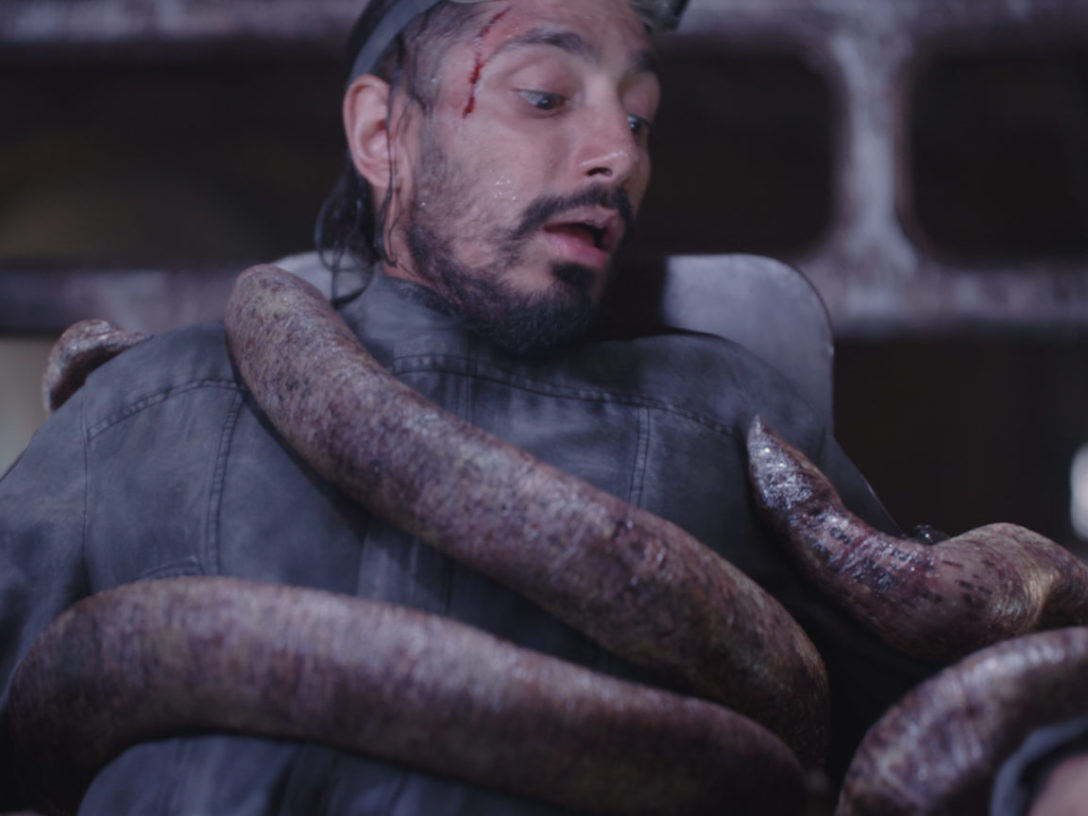 Bor Gullet attacking Bodhi Rook.