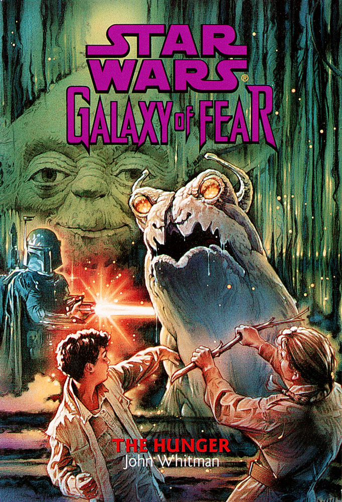Star Wars: Galaxy of Fear: The Hunger cover.