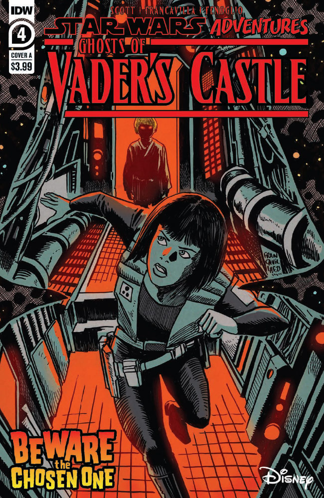 Ghosts of Vader's Castle #4 preview 1