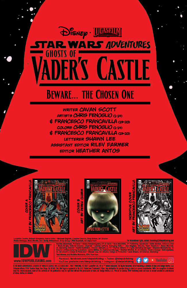 Ghosts of Vader's Castle #4 preview 2