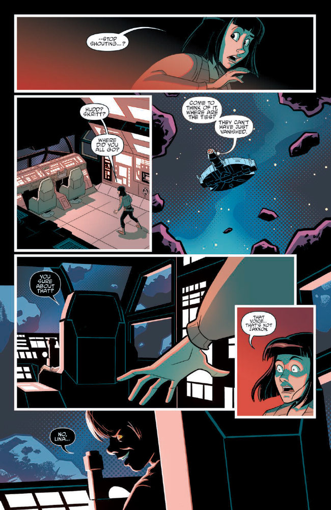 Ghosts of Vader's Castle #4 preview 5