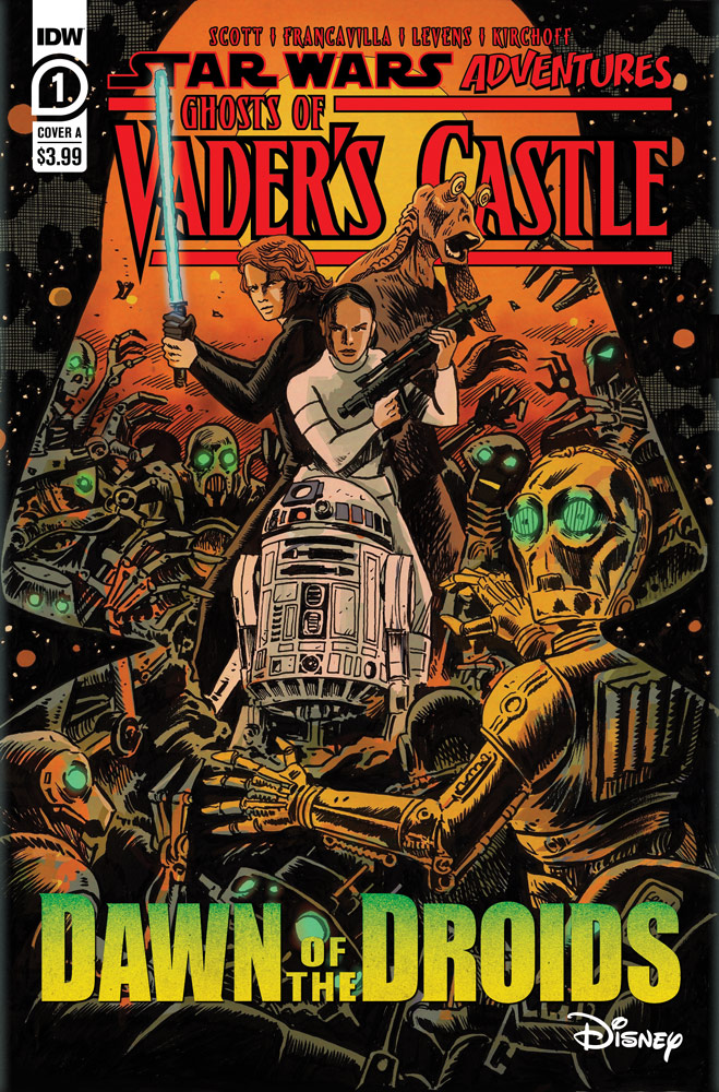 Ghosts of Vader's Castle #1 cover.