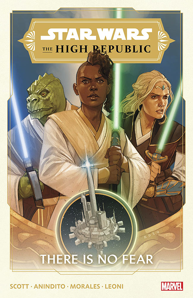 Star Wars: The High Republic: There is No Fear cover.