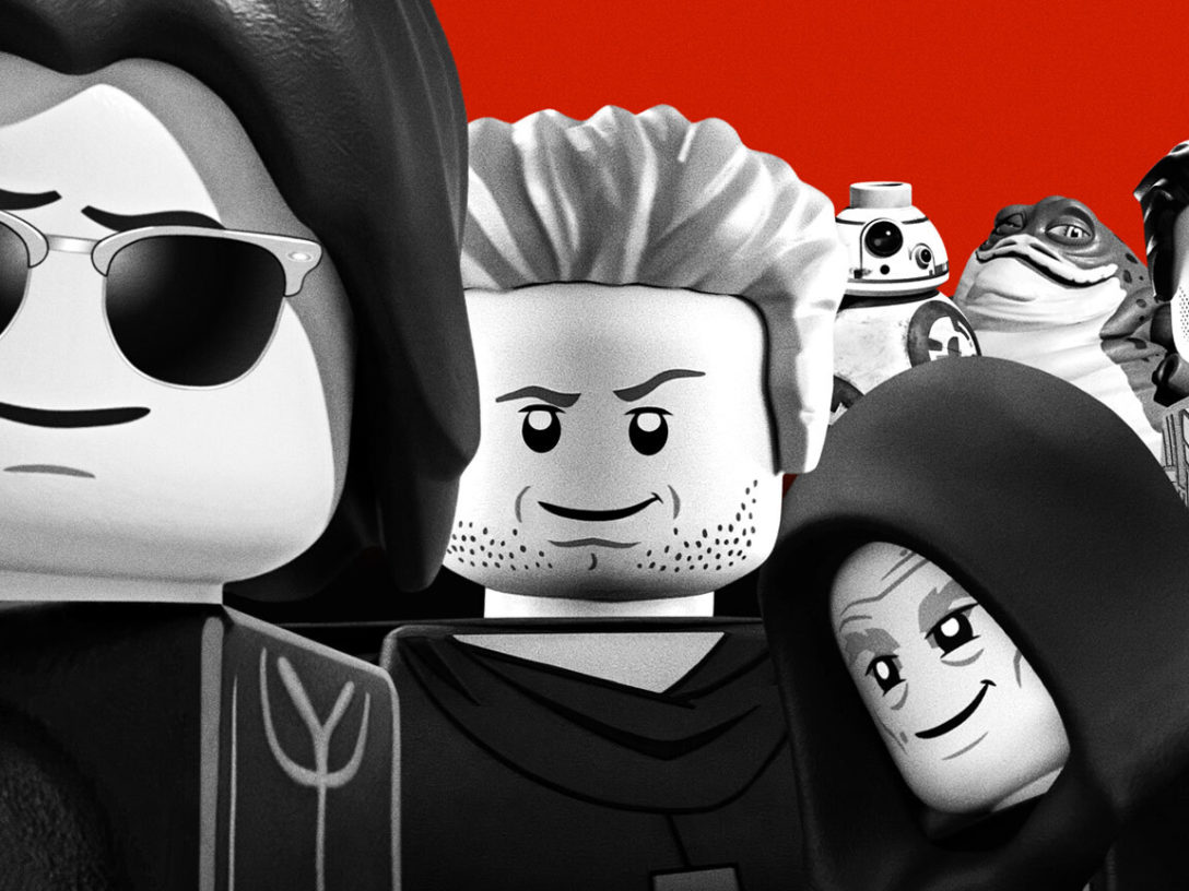 LEGO Star Wars Terrifying Tales - The Lost Boys tribute poster.