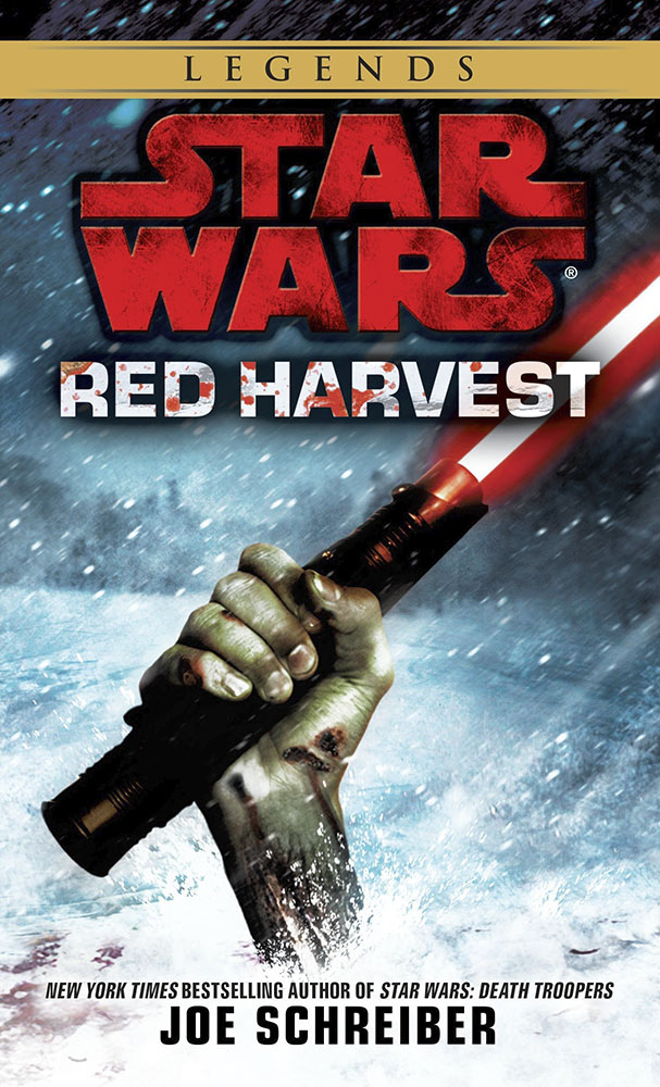 Star Wars: Red Harvest cover.