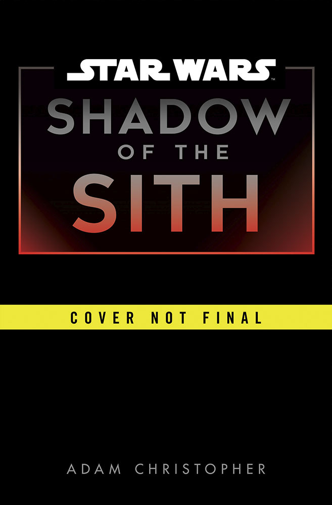 SHADOW OF THE SITH Temporary Cover