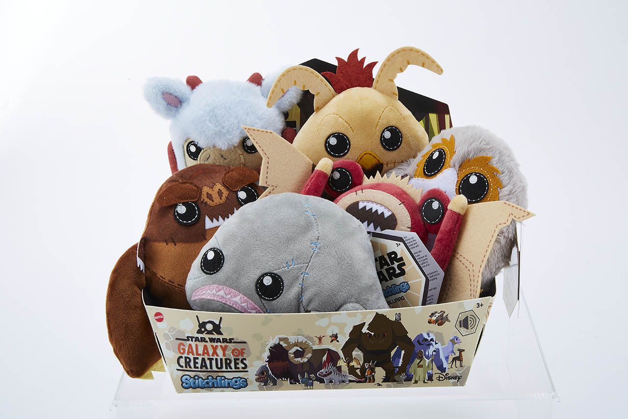 Star Wars Galaxy of Creatures Stitchlings from Mattel Plush