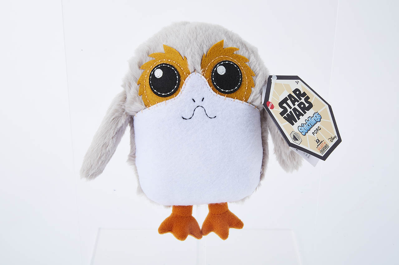 Star Wars Galaxy of Creatures Porg Stitchlings