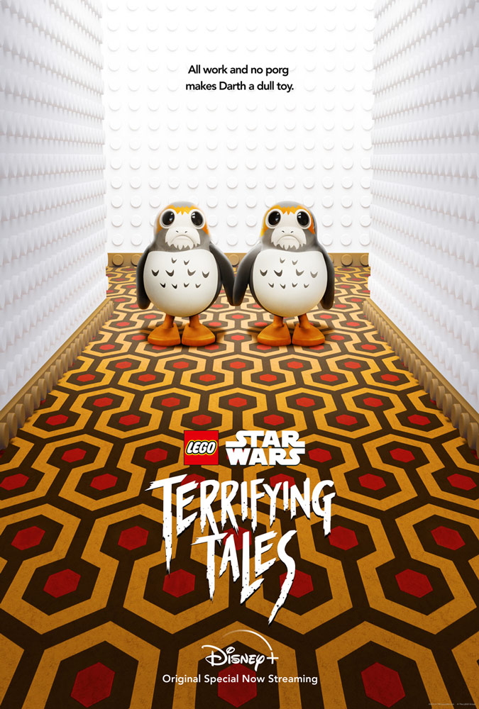 """LEGO Star Wars Terrifying Tales """"The Shining"""" poster"""