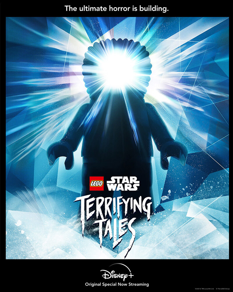 LEGO Star Wars Terrifying Tales - The Thing tribute poster.