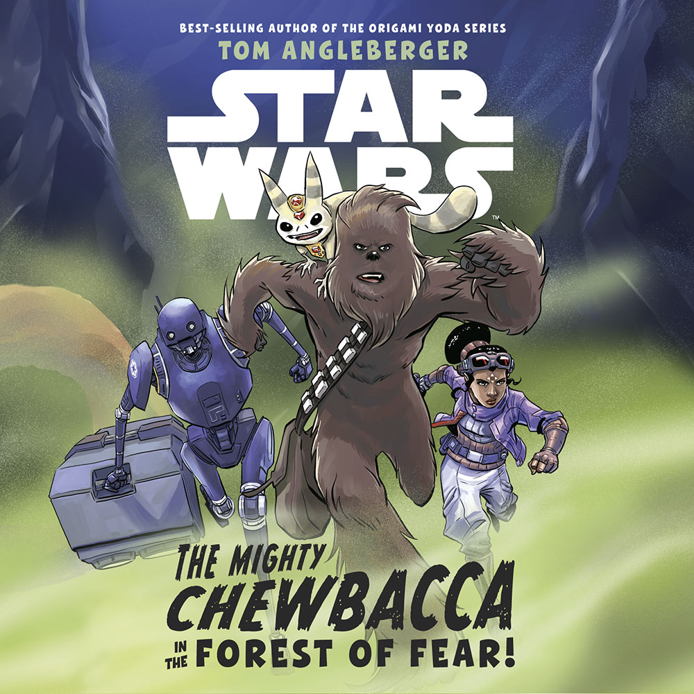The Mighty Chewbacca and the Forest of Fear cover.