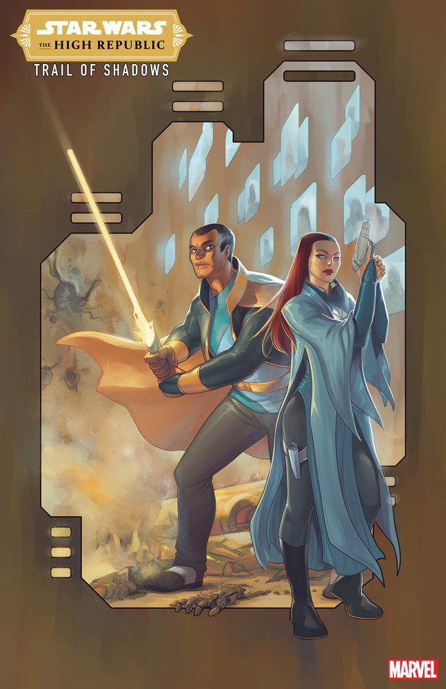 Star Wars: The High Republic: Trail of Shadows #2 variant cover.