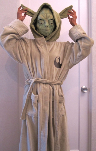 Last minute star wars costume ideas starwars yoda bathrobe solutioingenieria Gallery