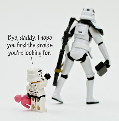 """Stormtrooper Sendoff"" by +Christian Cantrell, via microkosmic"