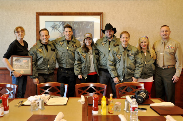 We're official in our jackets from MCAS Miramar!