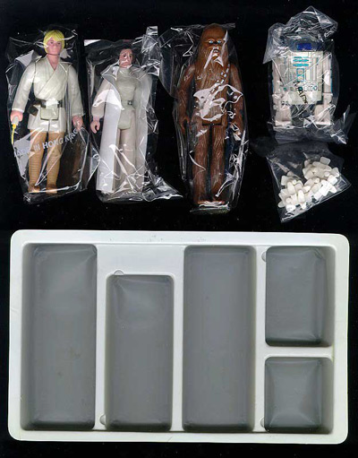 The Star Wars Early Bird Kit toys