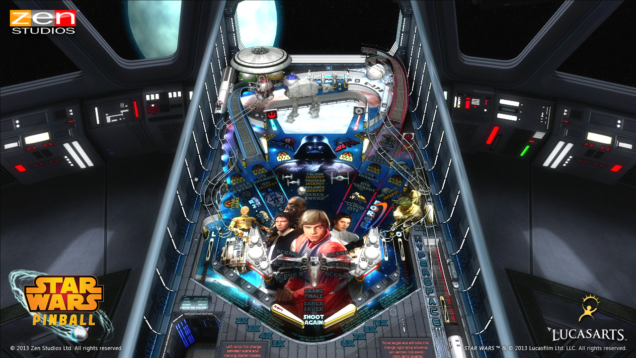 Empire Strikes Back Table