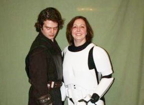 Even Vader thinks women look good in armor!