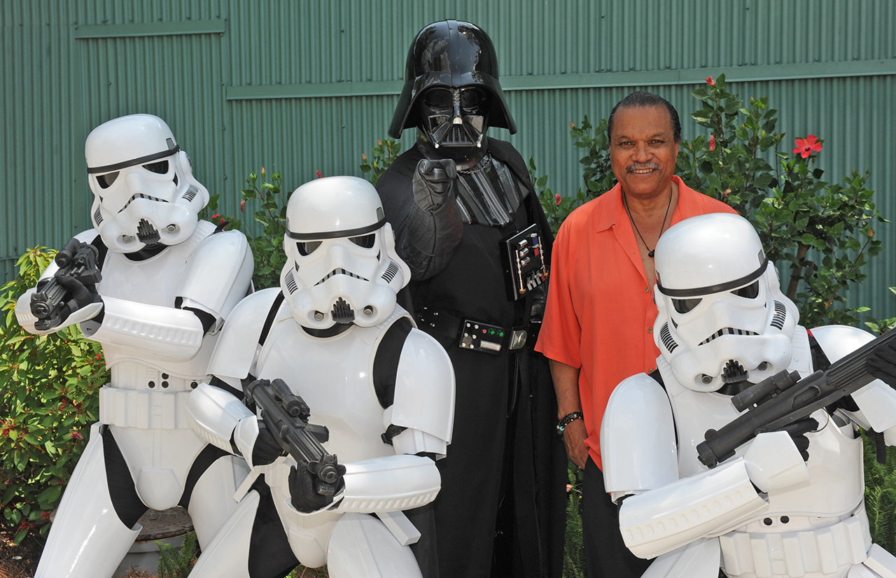 Billy Dee Williams at Star Wars Weekends