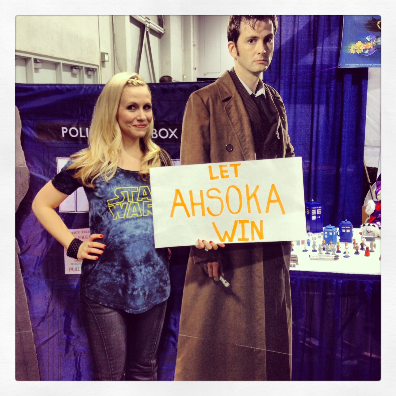 David Tennant is NOT Amused by the thought of Ahsoka losing!