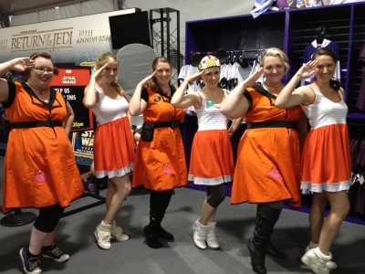 The ladies love Rogue Squadron!